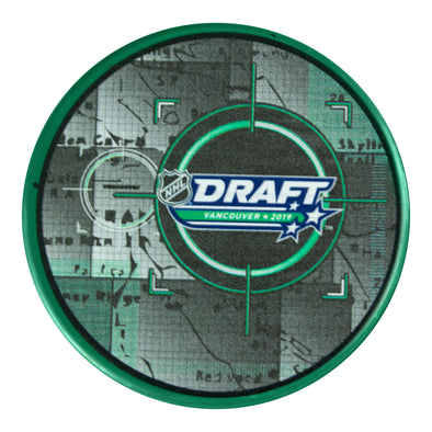 NHL Draft Vancouver 2019 Collectors Puck (Green)
