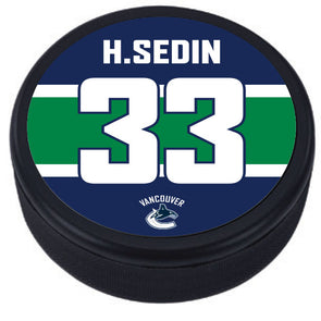 Legends Night: Henrik Sedin Puck