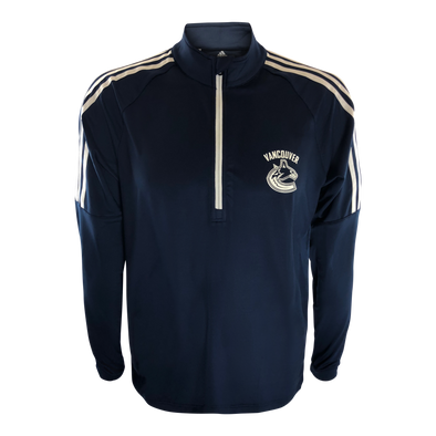 Vancouver Canucks Men's Adidas 3 Stripe Layer