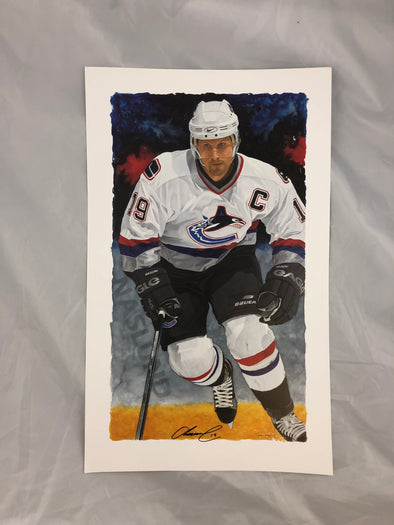 Glen Green Signed Lithograph- Markus Naslund