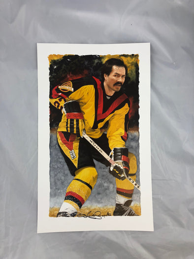 Glen Green Signed Lithograph- Harold Snepsts