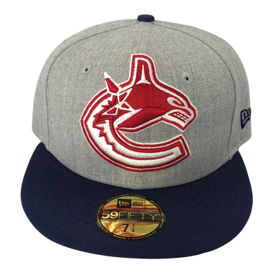 Vancouver Canucks Orca Heather Grand Fitted - Vanbase