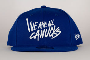 Vancouver Canucks New Era We Are All Canucks 950 Snapback (Blue)