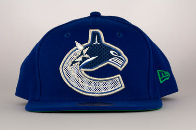 Vancouver Canucks New Era Meshed Mix 950 Orca Snapback