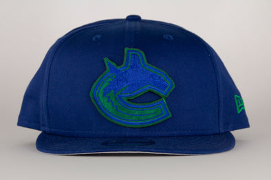 Vancouver Canucks New Era Suede Patch 950 Orca Snapback