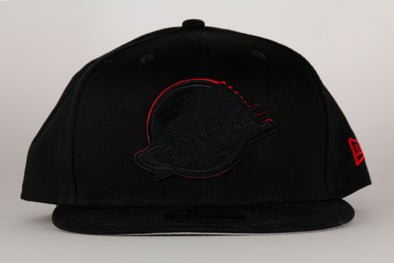 Vancouver Canucks New Era Suede Patch 950 Skate Snapback