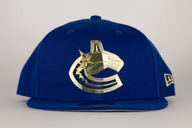 Vancouver Canucks New Era Metal Frame Orca 950 Snapback (Blue)