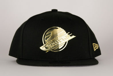 Vancouver Canucks New Era Metal Frame 950 Skate Snapback