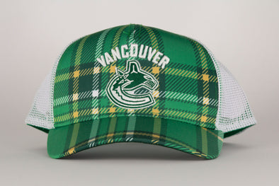 Vancouver Canucks Adidas St. Patricks Day Hat
