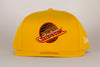 Vancouver Canucks New Era Skate 5950 Fitted Hat (Yellow)