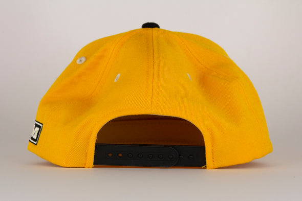 Vancouver Canucks CCM Classic Yellow Skate Snapback