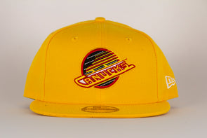 Vancouver Canucks New Era Skate 950 Snapback (Yellow)