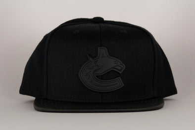 Vancouver Canucks Mitchell & Ness Matte Lux Snapback