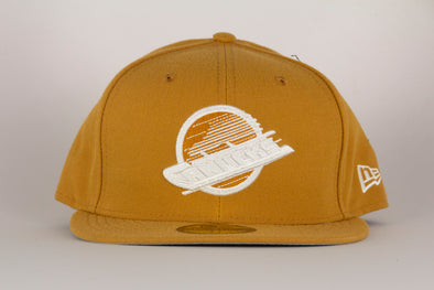 Vancouver Canucks New Era Orca League Basic Flat Brim