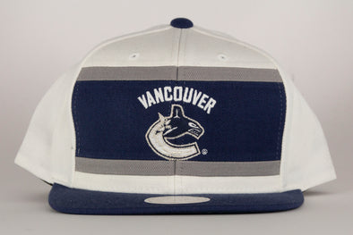 Vancouver Canucks Mitchell & Ness Color Block Snapback