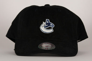 Vancouver Canucks Mitchell & Ness Primary Orca Adjustable Hat