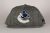 Vancouver Canucks New Era Tweed Trim Fitted Flat Brim