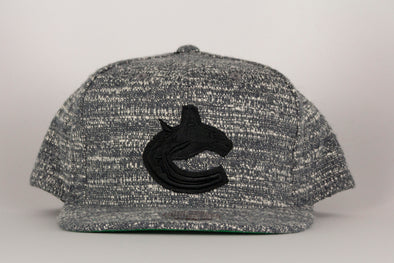 Vancouver Canucks Mitchell & Ness Orca Grey Noise Snapback
