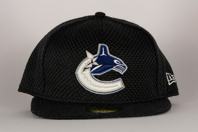 Vancouver Canucks New Era Orca Cap Checked Flat Brim