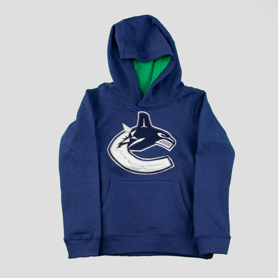 Canucks Youth Primary Orca Playbook Hoodie