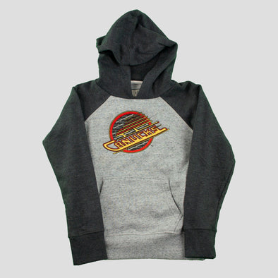 Canucks Youth Campus Crew Heritage Skate Hoodie
