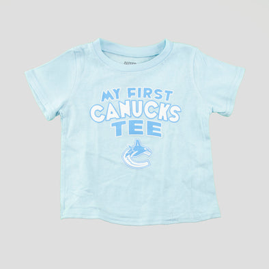 "Canucks Infant ""My First Canucks T-Shirt"" (Blue)"