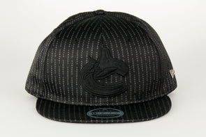 Canucks New Era Black Label Suited 950 Orca Snapback