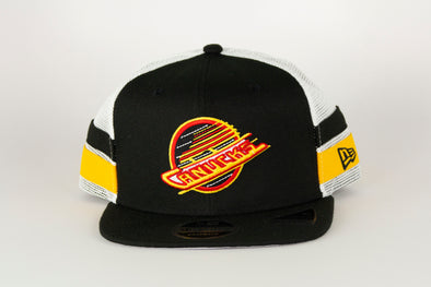Canucks New Era Striped 950 Skate Snapback
