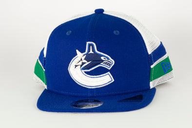 Canucks New Era Striped 950 Orca Snapback