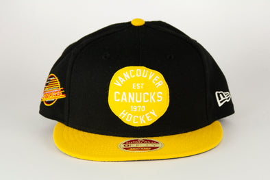 Canucks New Era DBL 950 Skate Patch Snapback