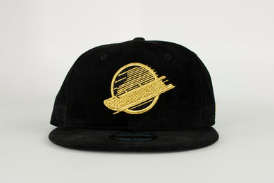 Canucks New Era Black Label Vivid 5950 Skate Hat