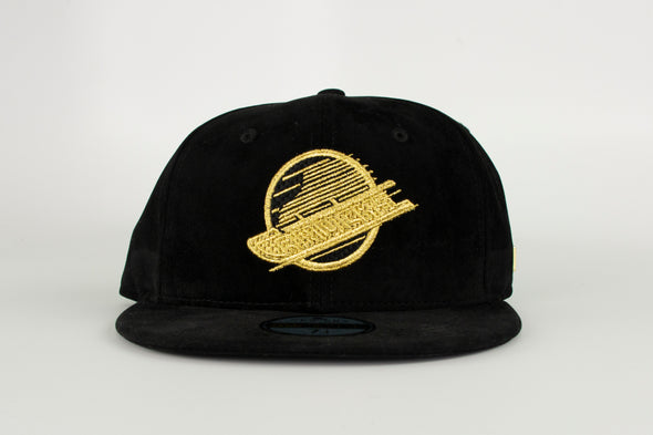 Vancouver Canucks New Era Black Label Vivid 5950 Skate Hat