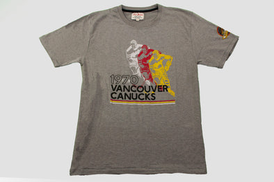 Vancouver Canucks Red Jacket Duncan Skate T-Shirt