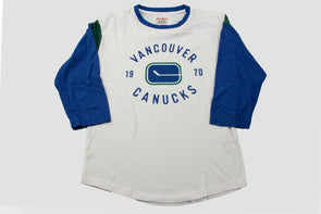 Canucks Red Jacket Bronson Stick Raglan
