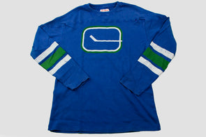 Canucks Red Jacket Gibson Stick Long Sleeve