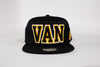 Canucks Mitchell & Ness Retro 110 Skate Snapback (Black)