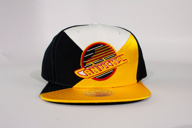 Canucks Mitchell & Ness Quad Skate Snapback