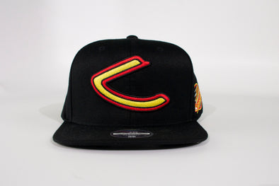Canucks Mitchell & Ness Fast Skate Snapback