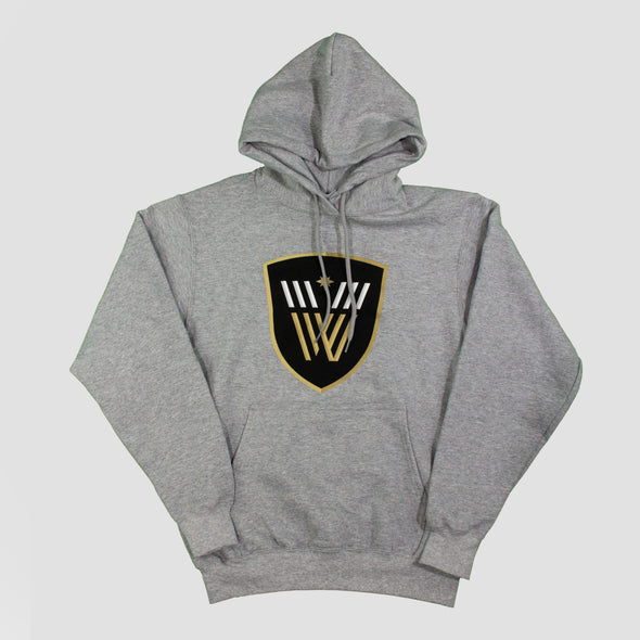 Vancouver Warriors Primary Logo Hoodie (Grey)