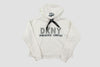 Canucks Womens DKNY Maddie Orca Hood (White)