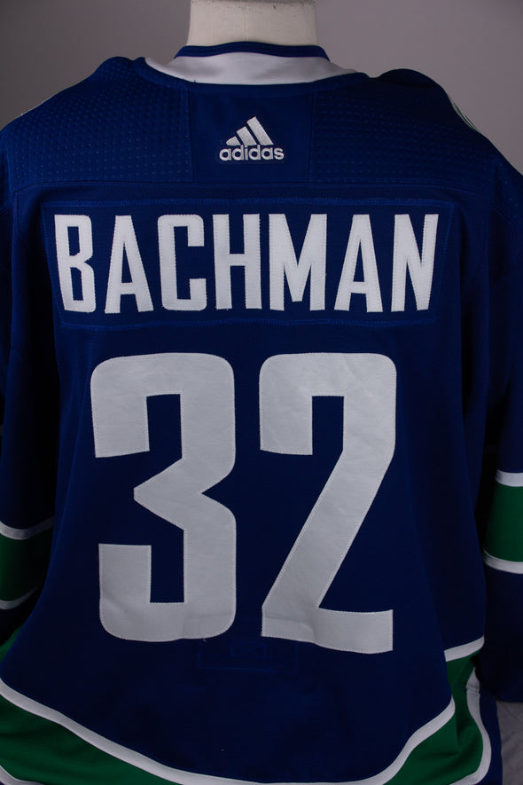 Richard Bachman 2018.19 Game Issued Jersey