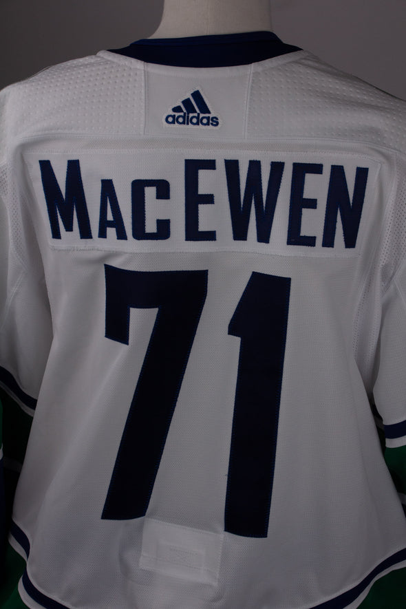 Zack MacEwen 2018.19 Game Worn Jersey