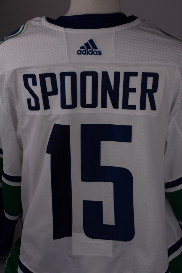 Ryan Spooner 2018.19 Game Worn Jersey