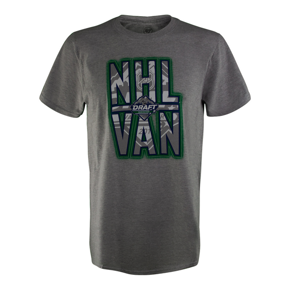 NHL Draft Vancouver 2019 City T-Shirt