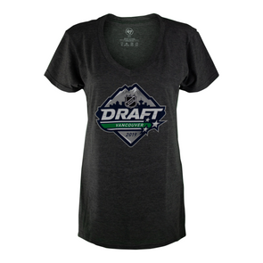 NHL Draft Vancouver 2019 Basic Ladies V-Neck T-Shirt