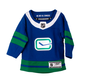 Vancouver Canucks Infant Third Name and Number Jersey