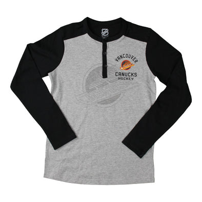 Vancouver Canucks Youth Skate Constructed Henley