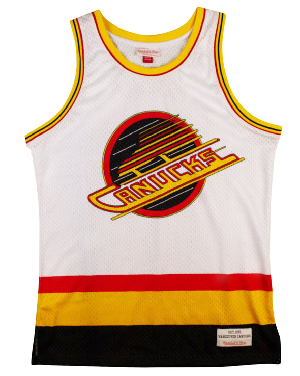 Vancouver Canucks Mens Mitchell & Ness Swingman Skate Jersey