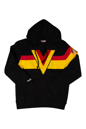 Vancouver Canucks Mens  Mitchell & Ness Chenille Flying V Hoodie