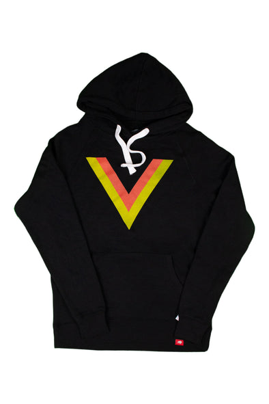 Vancouver Canucks Mens Sportiqe Flying V Olson Hoodie